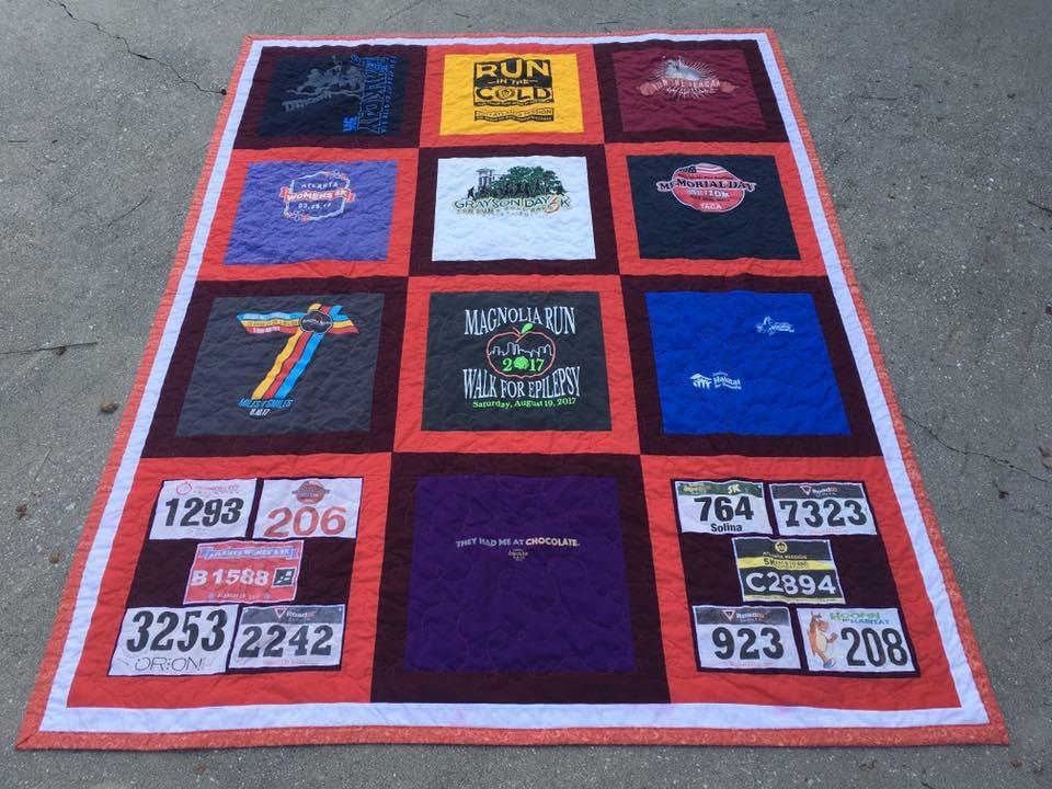 Runner T-shirt Quilt