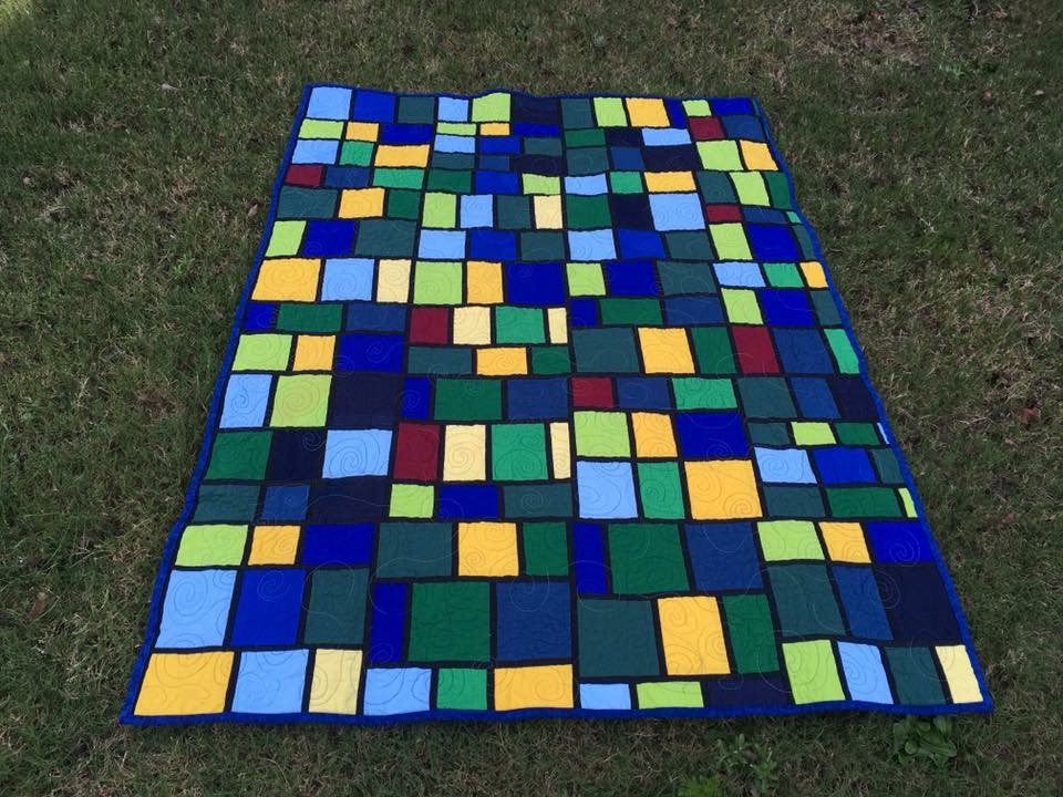 Starry Night Baby Quilt