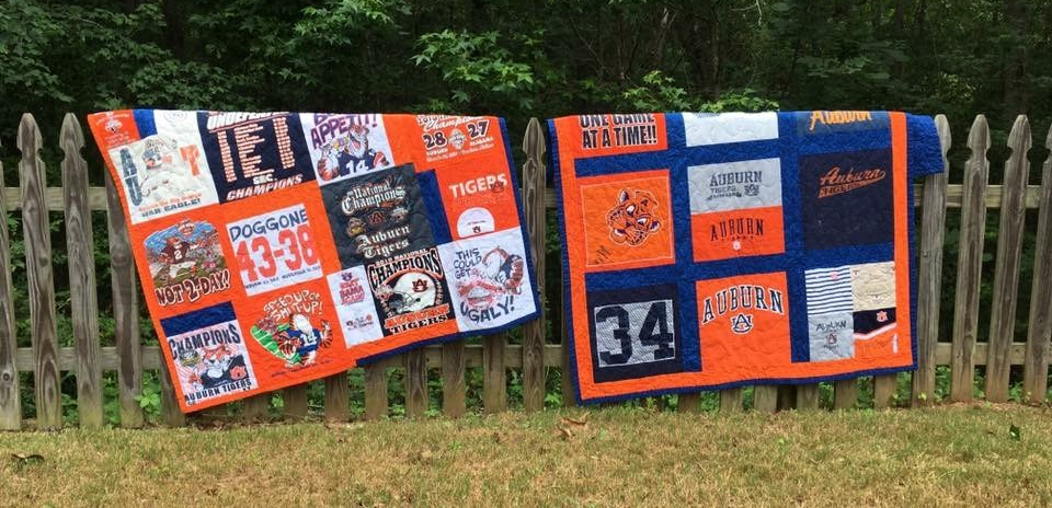Auburn T-shirt Quilts