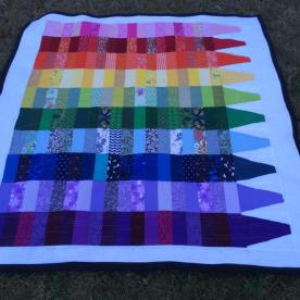 Color Crayon Quilt