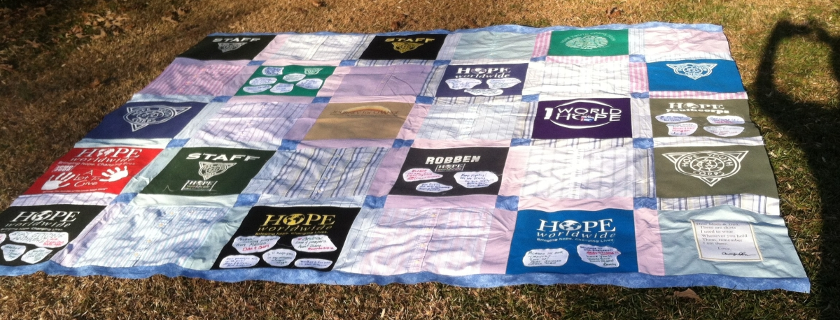 Hope Memory Quilt