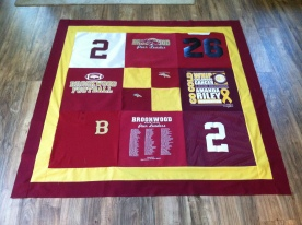 A school wall quilt I made for my craft fair booth.