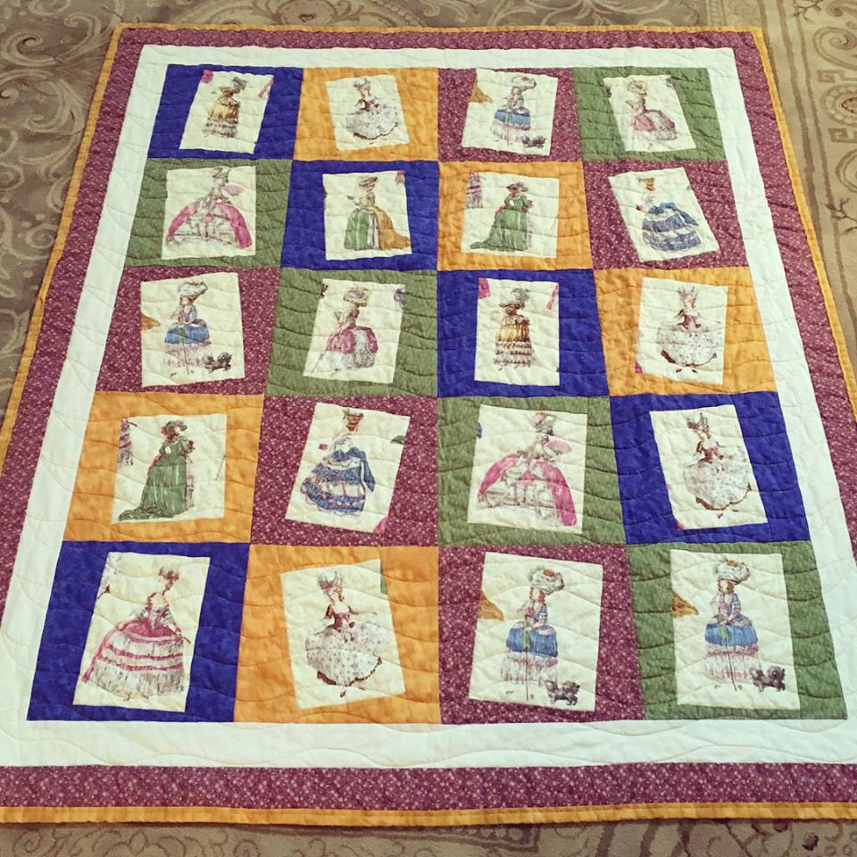 French Madamoiselle Quilt