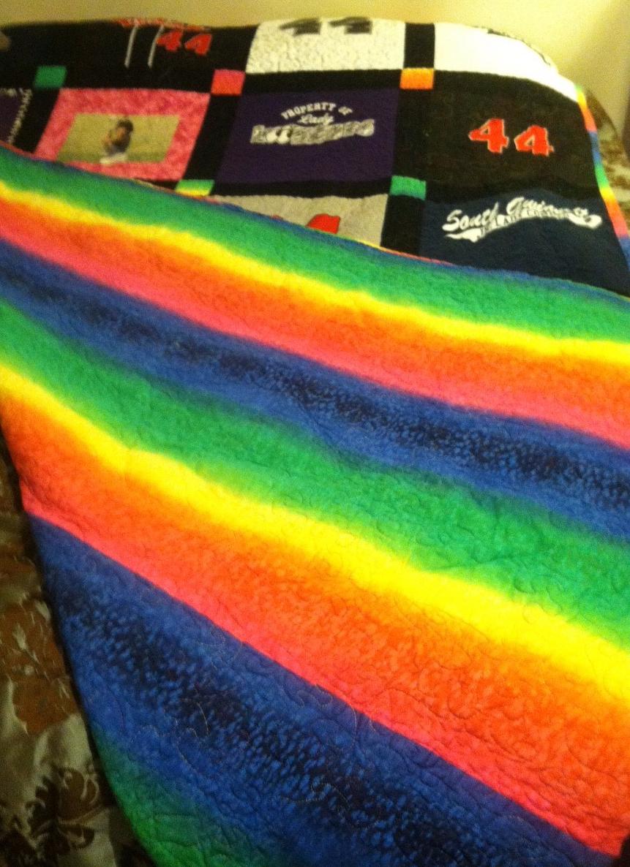 Rainbow backing