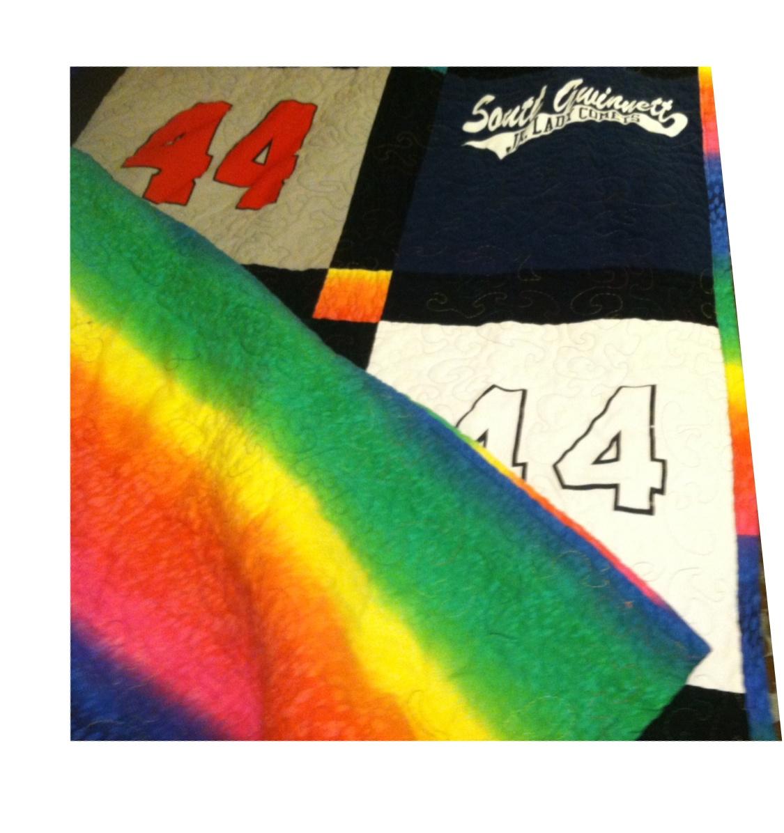 Senior Softball Quilt