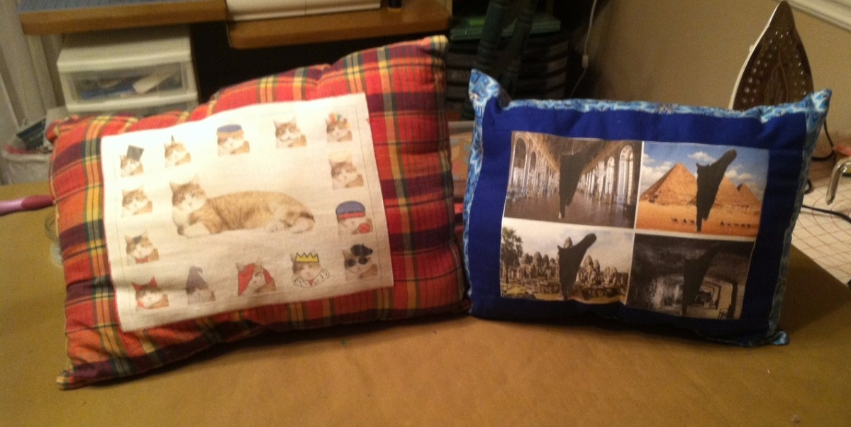 Pet Picture Pillows