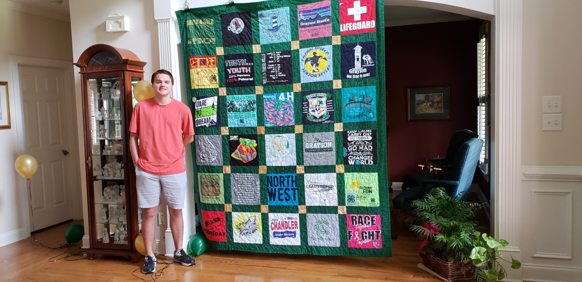 Three Quilts for Three Brothers