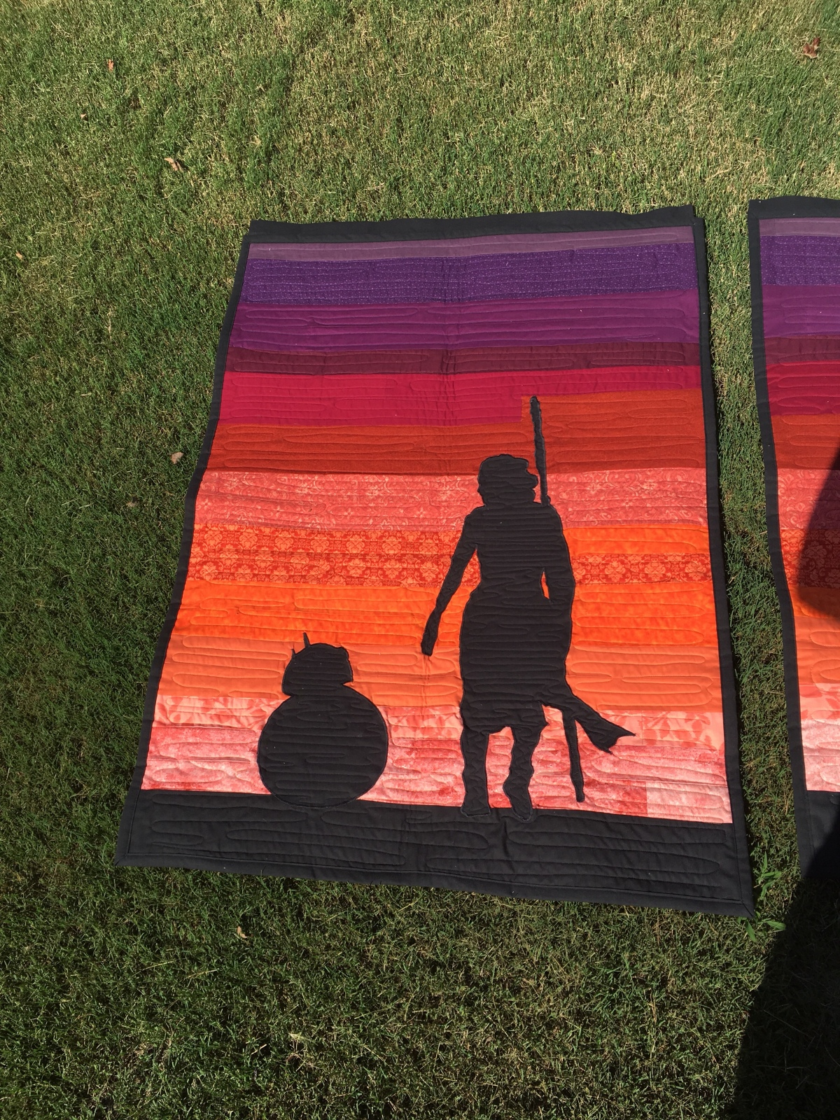 Rey and BB8 WallQuilt