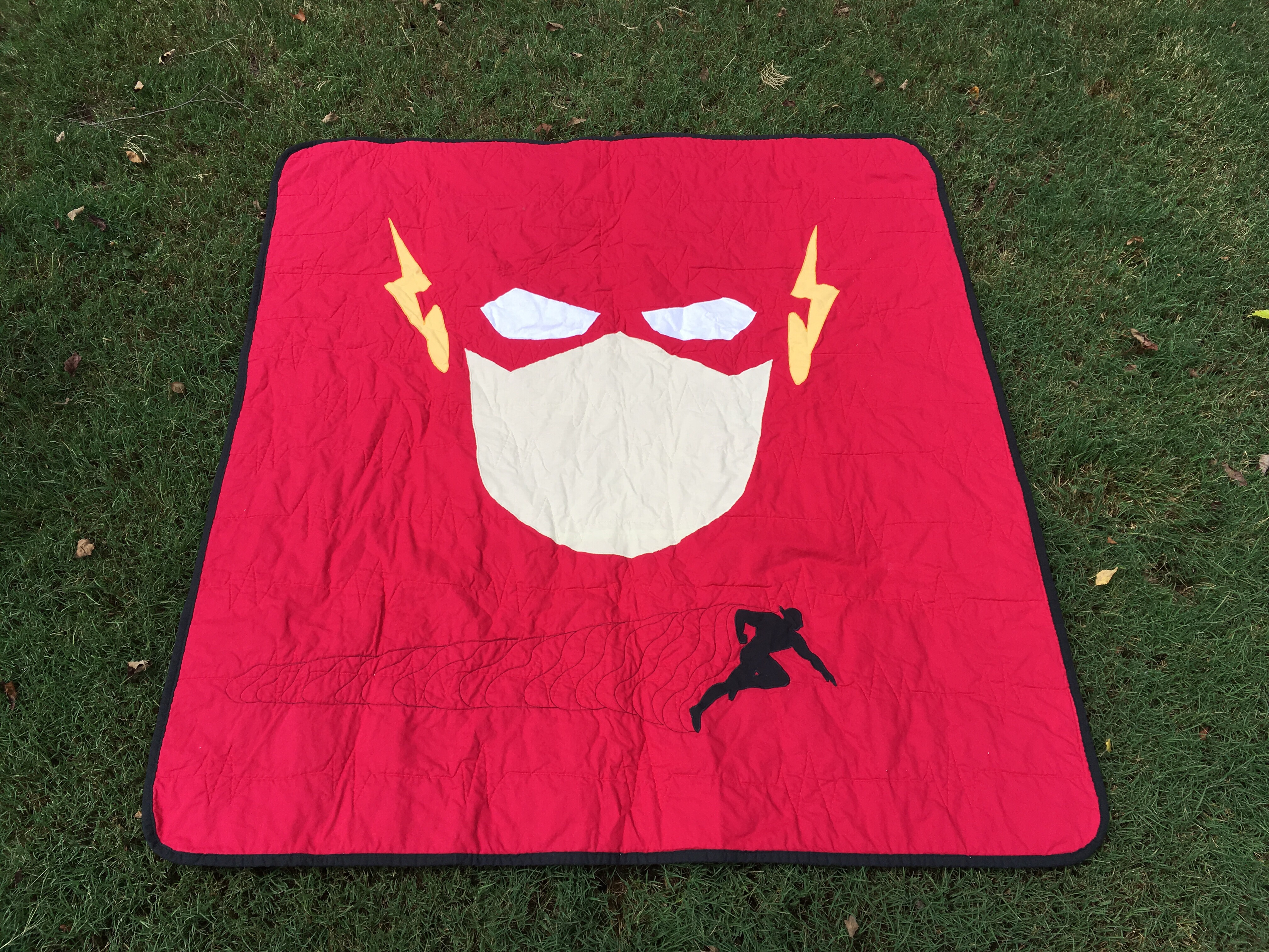 The Flash Baby Quilt