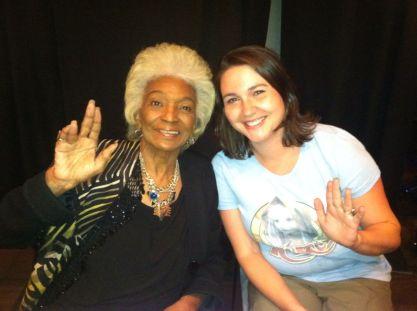 One year I met Nichelle Nichols!