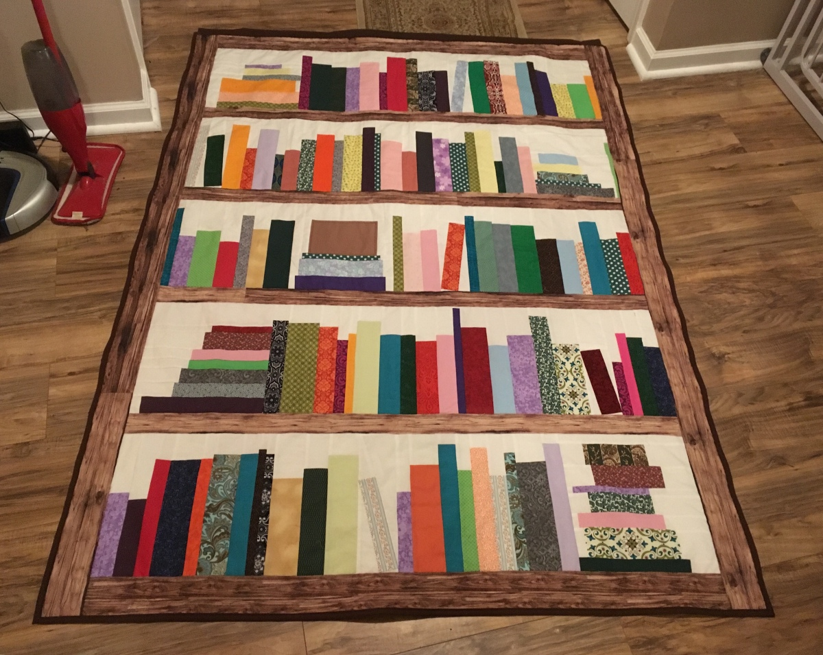 Bookcase Wall Quilt