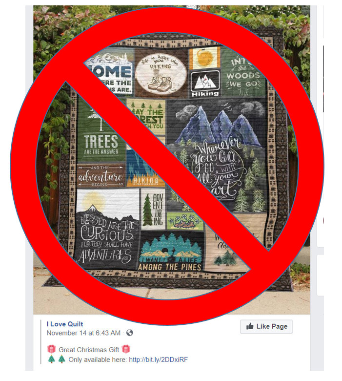 Tis the season!…for Quilt Scams on Facebook