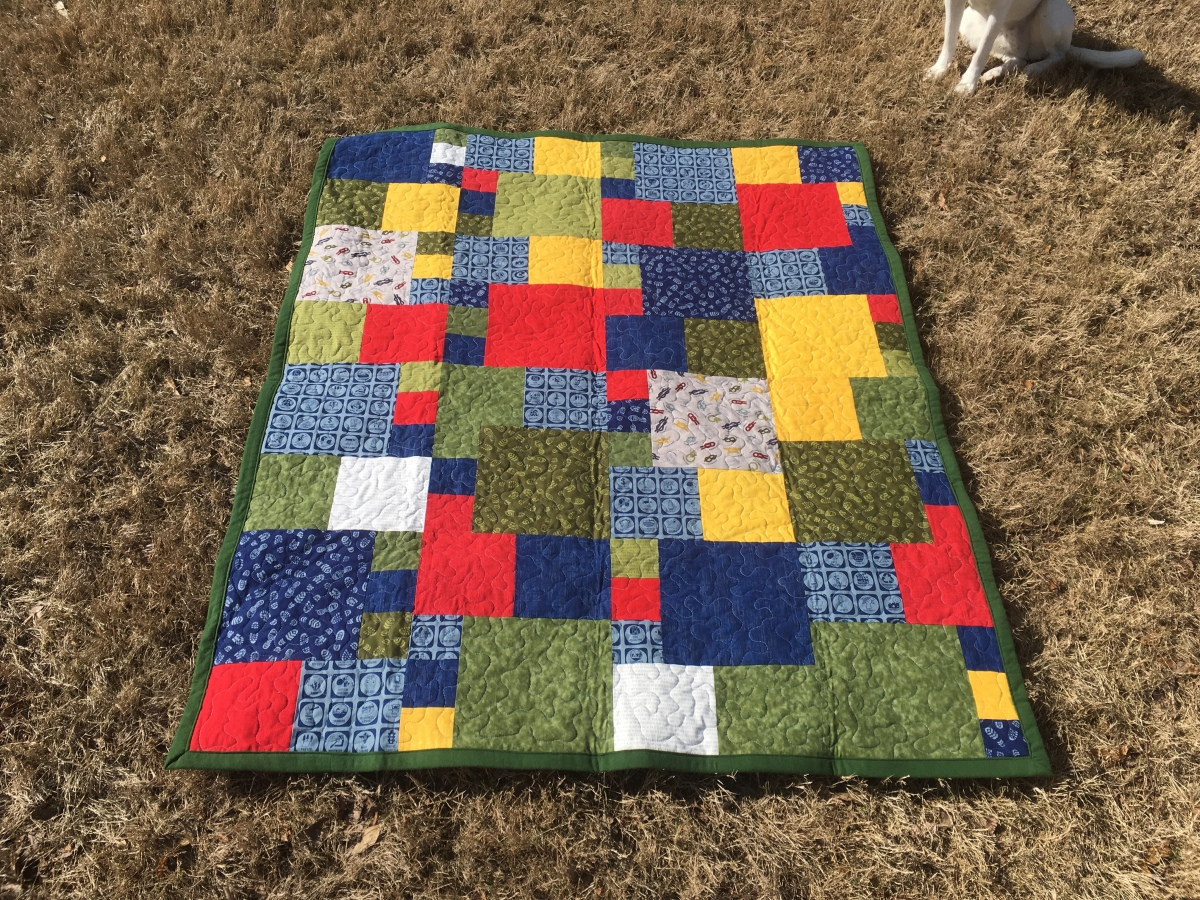 Boy Scout LapQuilt