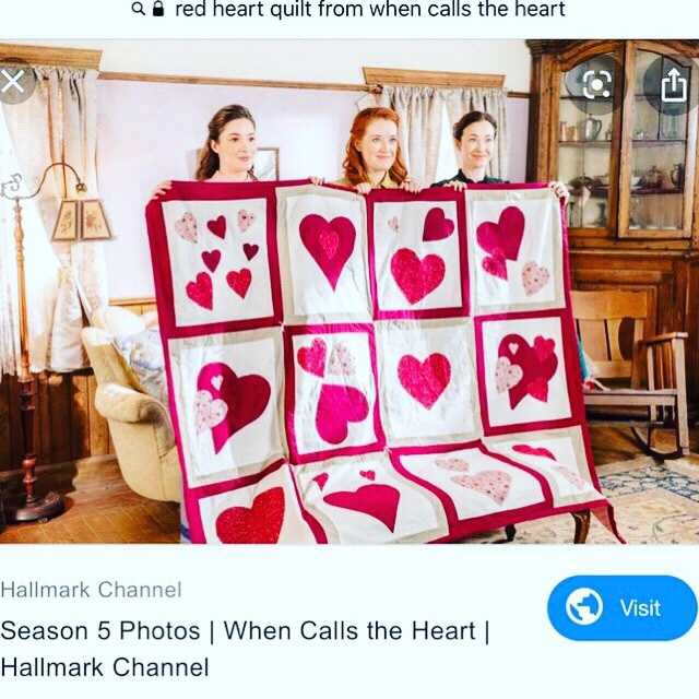 When Calls the Heart Quilt